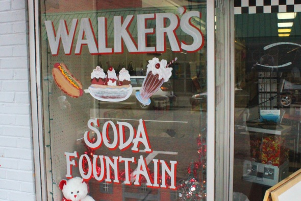 Walkers Soda Fountain